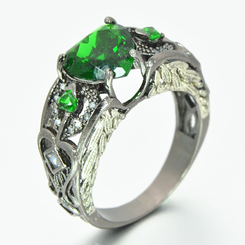 Heart Angel Wing Ring - 40% Off + Free Shipping