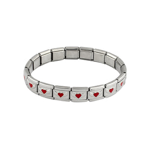Heart Wing Stainless Steel Bracelet - 30% Off! - The Creative Booth