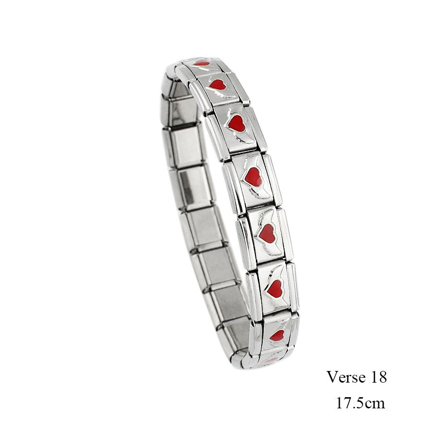 FREE! Heart Wing Stainless Steel Bracelet - The Creative Booth