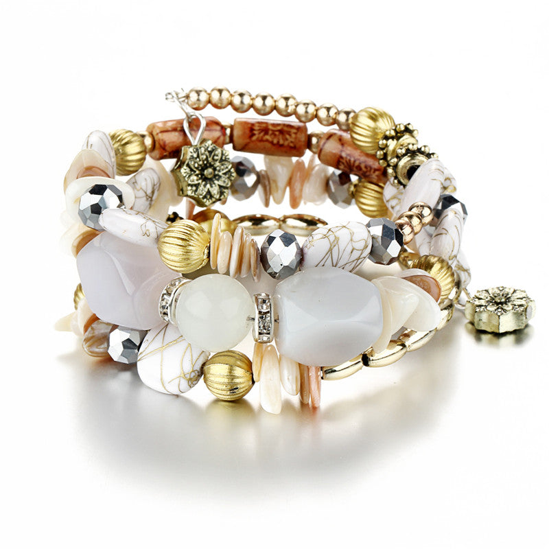 FREE! Bohemian Charm Crystal Bracelet - The Creative Booth