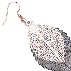 Vintage Leaves Boho Earrings