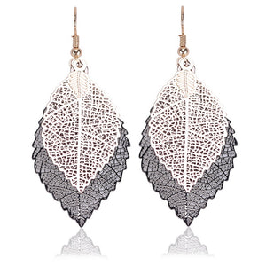 Vintage Leaves Boho Earrings - 35% Off