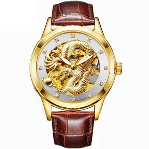 Custom Dragon Watch - The Creative Booth
