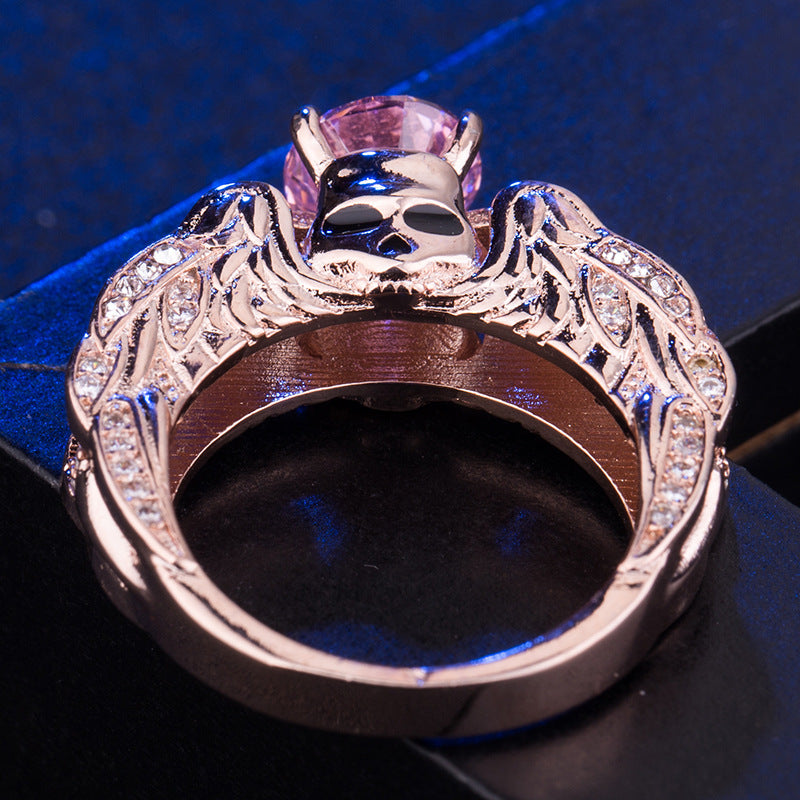 FREE! Luxury Skull Angel Wings Ring - The Creative Booth
