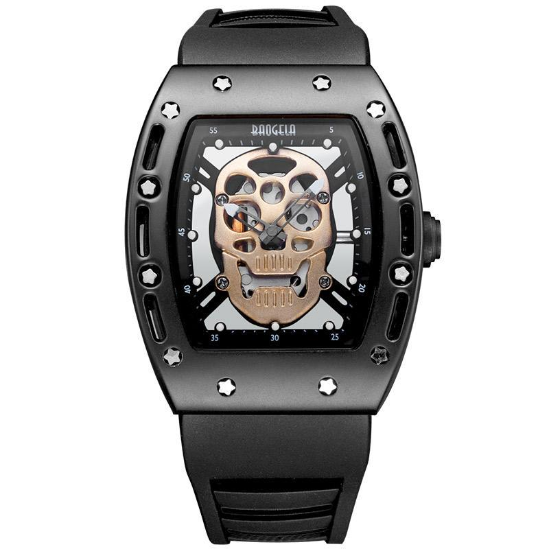 Luminous Black Silicon Strap Army Skull Watch - 50% OFF + FREE SHIPPING