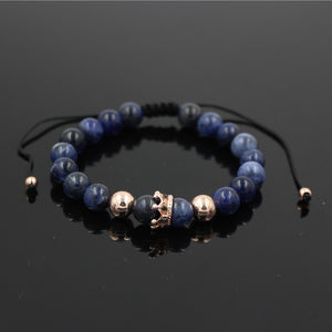 Crown Charm Bracelet - The Creative Booth