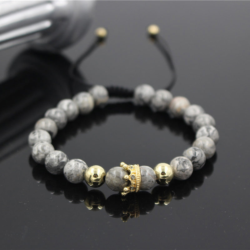 Crown Charm Bracelet - 20% Off + FREE Shipping! - The Creative Booth