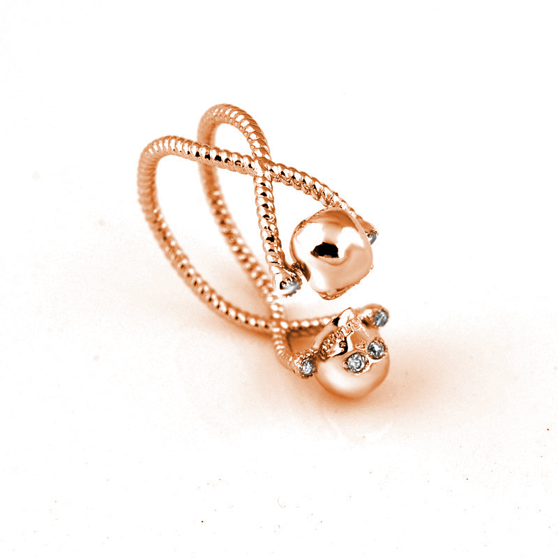 Adjustable Zircon Skull Ring - 65% Off - The Creative Booth