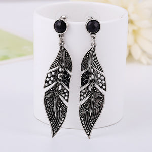 Feather Bohemian Earrings - The Creative Booth