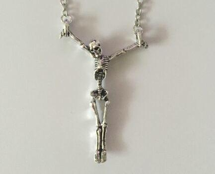 Gothic Soul Skeleton Necklace