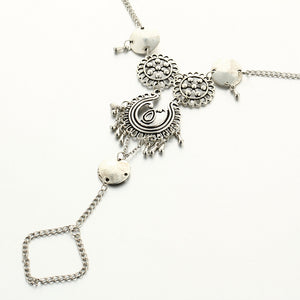 Ethnic-style Silver Tassel Anklet - 30% OFF + FREE SHIPPING - The Creative Booth