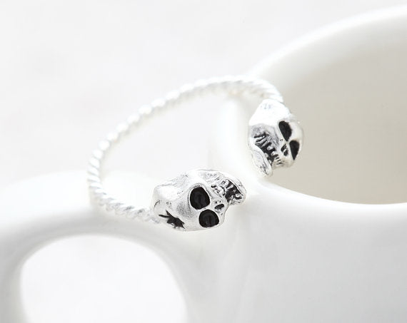 Adjustable Tiny Evil Skull Ring - 50% Off - The Creative Booth
