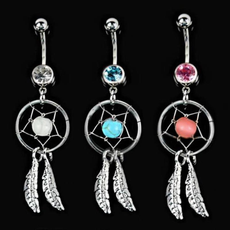 Bohemian Belly Button Ring - 30% OFF + FREE SHIPPING - The Creative Booth