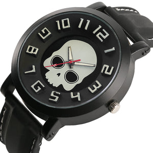 Steampunk Skull Pattern Wrist Watch - 30% OFF + FREE SHIPPING