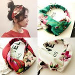 Summer Floral Turban - The Creative Booth