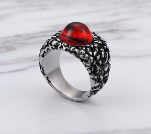 Devil Red Eye Ring - The Creative Booth