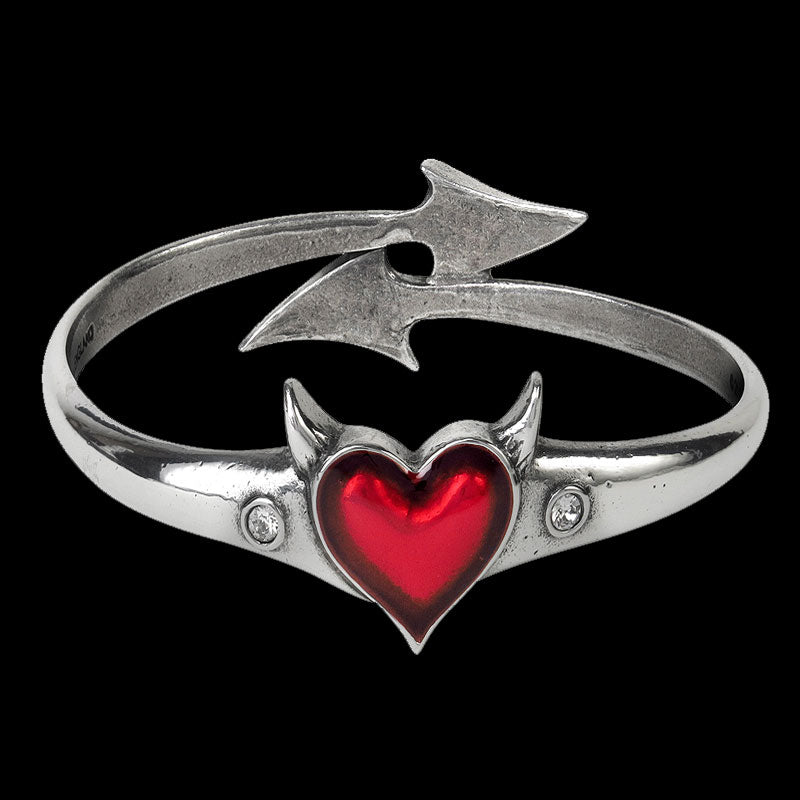 Devil Heart Bracelet - 65% OFF! - The Creative Booth