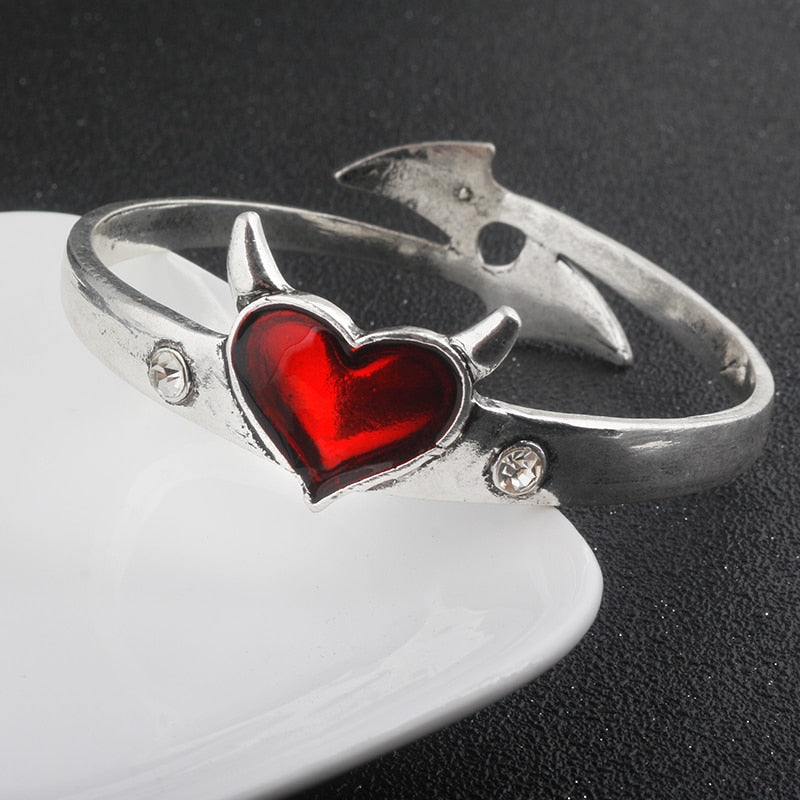 Devil Heart Bracelet Bundle - Get 3 at 55% OFF + FREE Shipping! - The Creative Booth