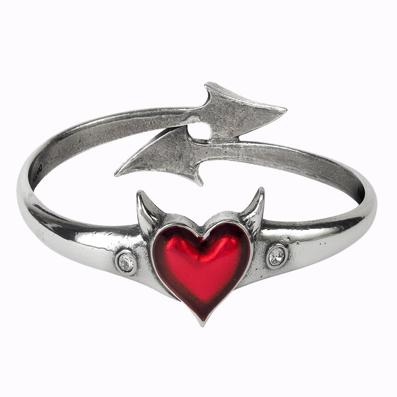 Devil Heart Bracelet - 35% OFF! - The Creative Booth