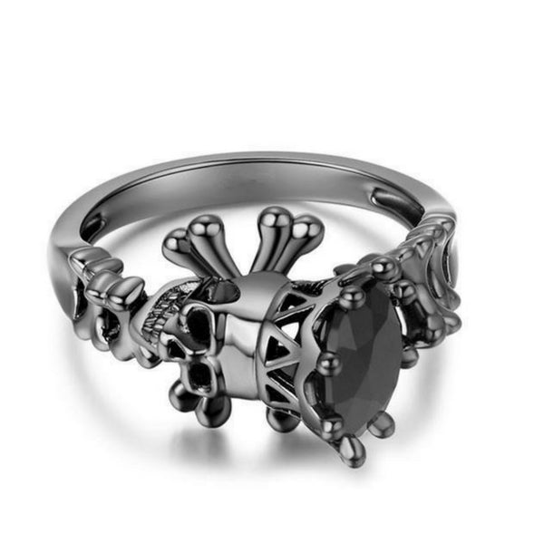 FREE! Trendy Skull Ring - The Creative Booth