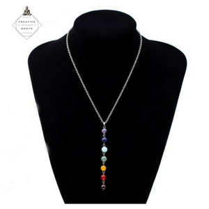 7 Chakras Beads Necklace - Special Offer 20% Off - The Creative Booth