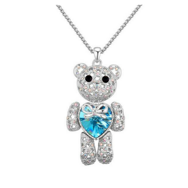 Crystal Bear Pendant - The Creative Booth