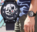 Mechanical Skeleton Skull Watch