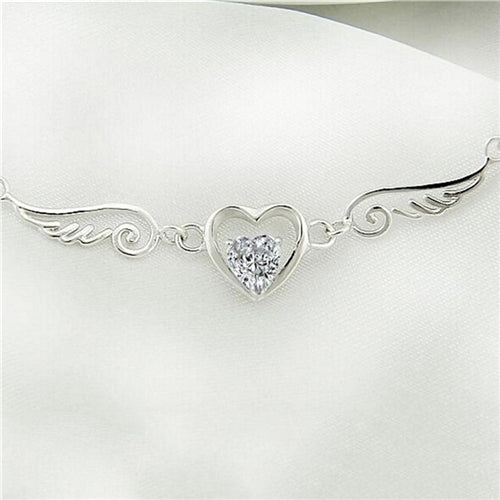 Angel Wings Heart Necklace - Special Offer - The Creative Booth