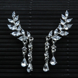 FREE! Elegant Angel Wings Stud Earrings - The Creative Booth