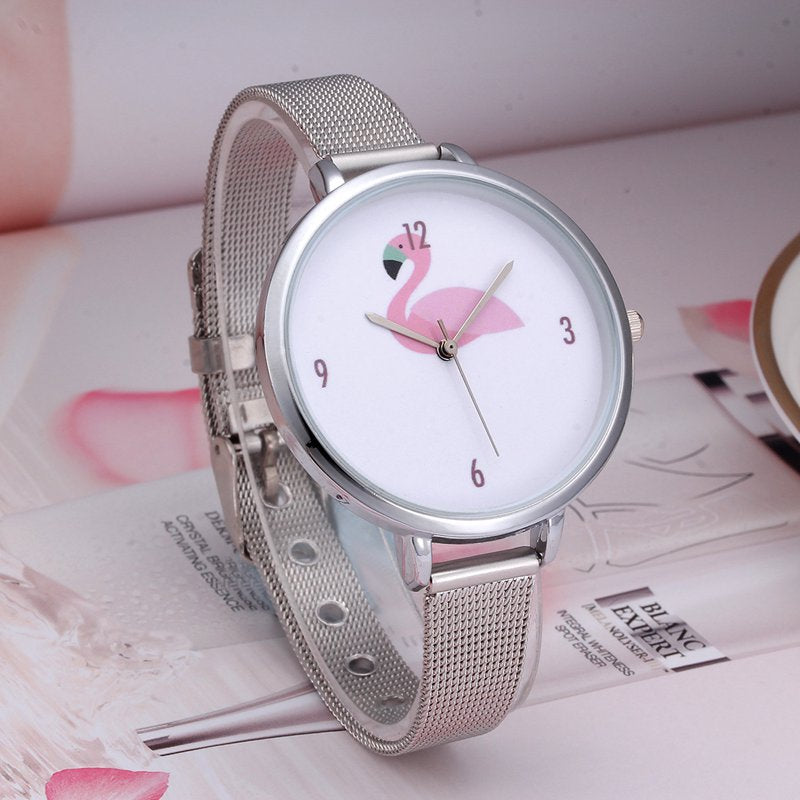 Flamingo Watch - The Creative Booth
