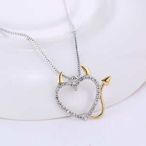 Heart Devil Necklace - Special Deal -> 2 Necklaces - The Creative Booth