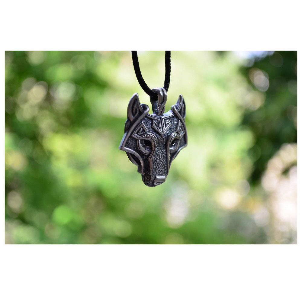 Wolf Head Pendant - The Creative Booth