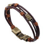 Fashion Leather Men Bracelet - The Creative Booth