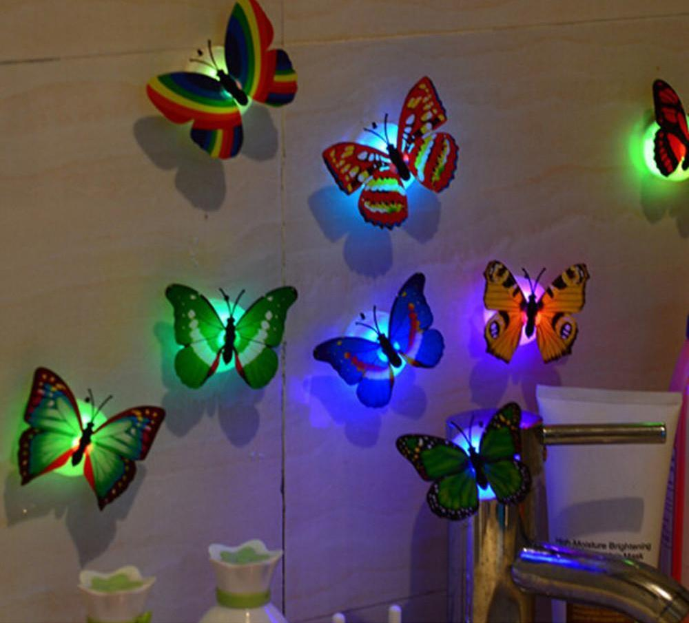 LED Butterfly Stickers (10 Pieces) - 65% Off! - The Creative Booth