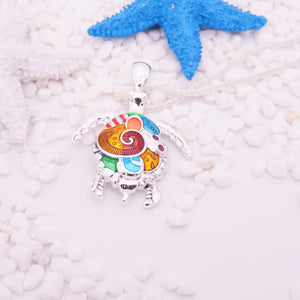 FREE Multicolored Turtle Necklace! - The Creative Booth