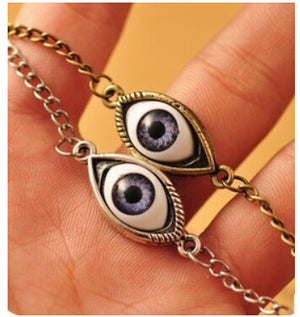 Retro Eye Chain Necklace - The Creative Booth