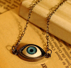 Retro Eye Chain Necklace - 30% Off! - The Creative Booth