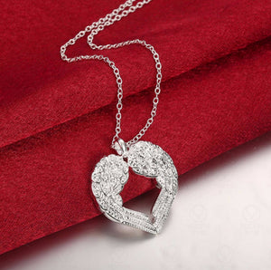 Angel Wings Love Necklace - 30% Off! - The Creative Booth