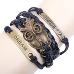 FREE Leather Owl Bracelet - The Creative Booth