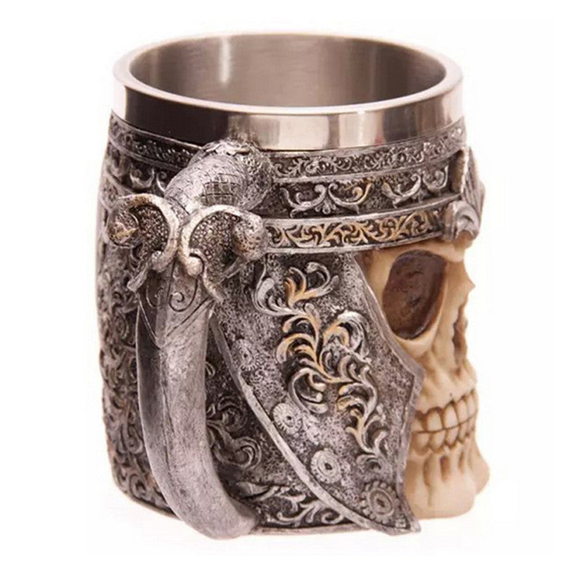 Striking Skull Mug - The Creative Booth