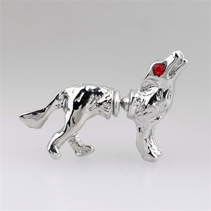 Wolf Stud Earrings - The Creative Booth
