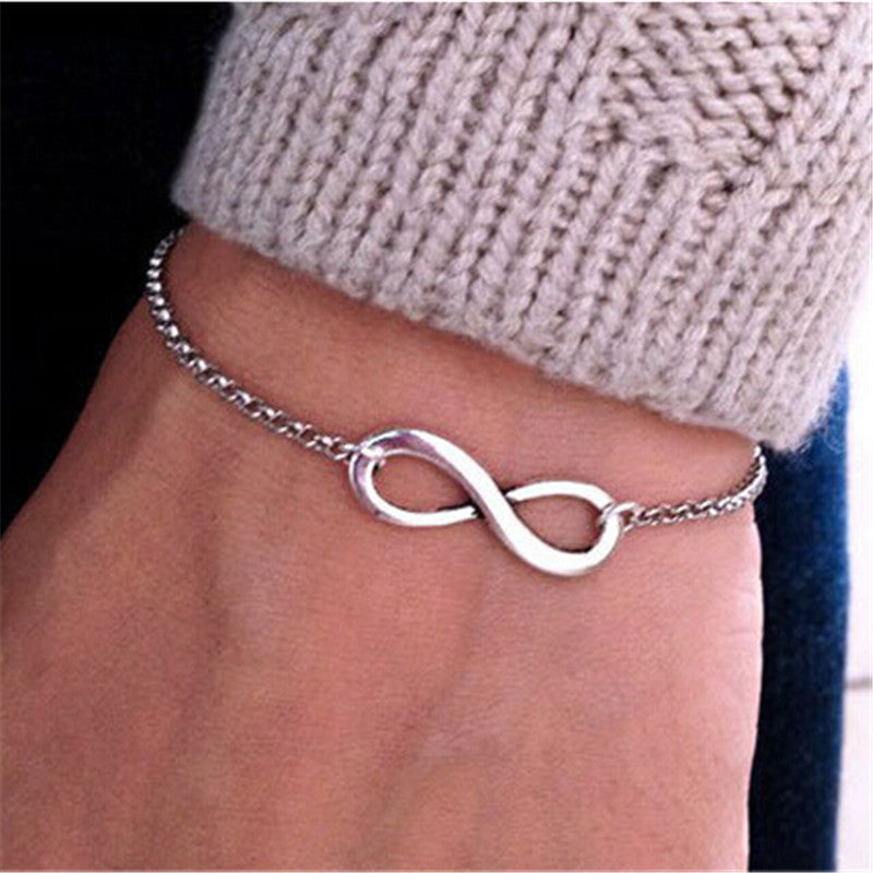 Charm Infinity Bracelet For Women - 50% Off + FREE Shipping - The Creative Booth