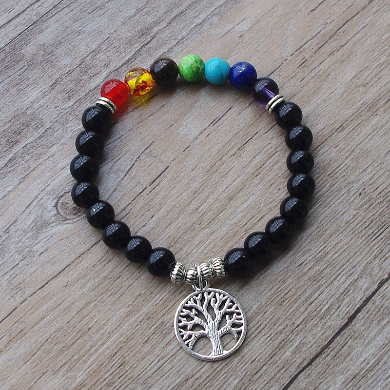 Tree Of Life (Bodhi Tree) Chakra Bracelet - The Creative Booth