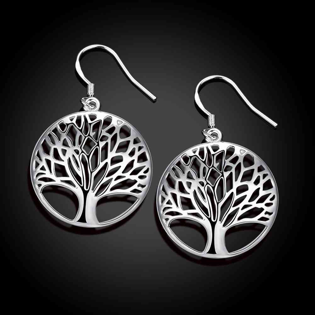Tree Of Life Drop Earrings - The Creative Booth