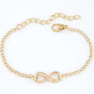 Charm Infinity Bracelet For Women - 25% Off + FREE Shipping - The Creative Booth