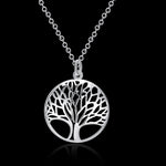 Tree Life Silver Plated Pendant For Women - The Creative Booth