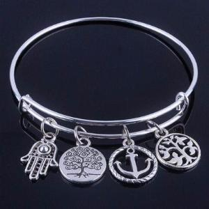 Tree of Life Bangle Bracelet: 50% Off + FREE Shipping - The Creative Booth