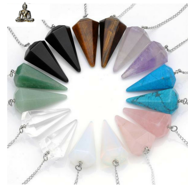 Reiki Stone Pendant - The Creative Booth