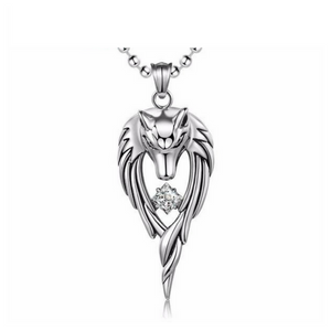 Stainless Wolf Pendant - 50% Off + FREE Shipping! - The Creative Booth