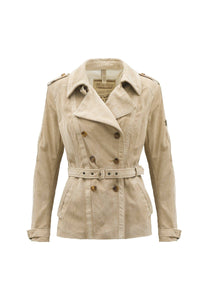 NATASHA JACKET WITH BELT LADY